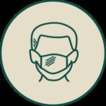 Praxiskonzepte Maske tragen